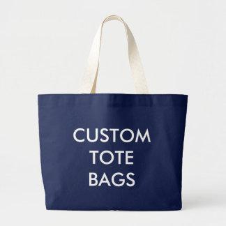 Plantilla enorme personalizada personalizado del bolsa de tela grande