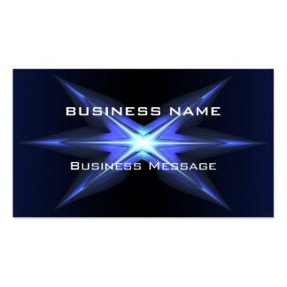 Plantilla futurista de alta tecnología de la tarje tarjeta de negocio