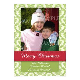 Plantilla Groupon de la foto del navidad de Merrry