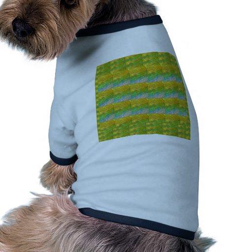 Plantilla ideal verde de oro de Goodluck + imagen Camiseta De Perrito