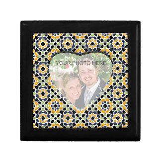 Plantilla imagen personalizada. Fondo de Marruecos Cajas De Regalo