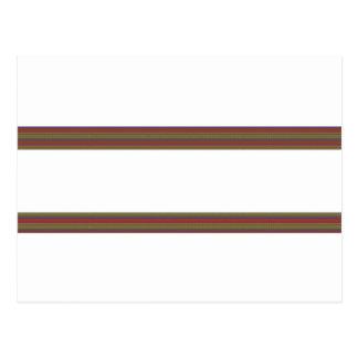 Plantilla: Las rayas elegantes añaden el regalo de Postal