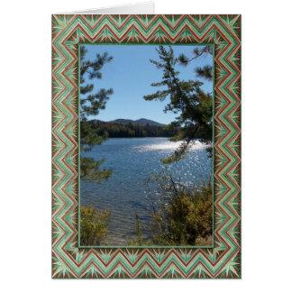 Plantilla - litografía colorida decorativa tarjeta de felicitación