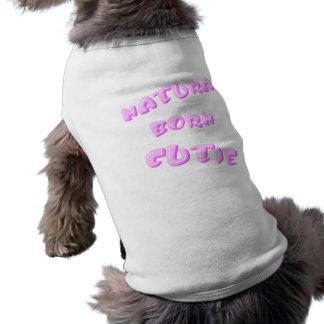 Plantilla llevada natural de la camisa del mascota camisetas de perro