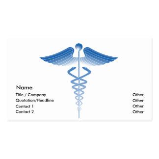Plantilla médica II de la tarjeta de visita