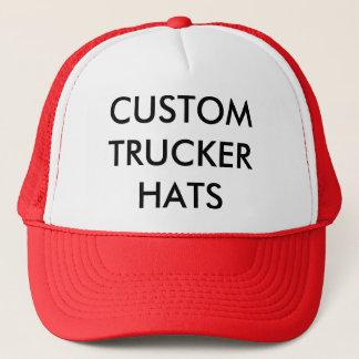 Plantilla personalizada personalizado del espacio gorra de camionero