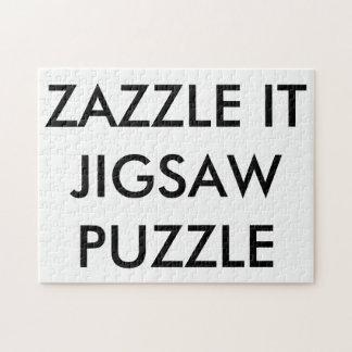 Plantilla personalizada personalizado del espacio puzzle