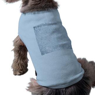 plantilla, plata, brillo, encanto, falso, buenas camiseta sin mangas para perro