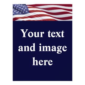 Plantilla política del aviador de la campaña elect folleto 21,6 x 28 cm