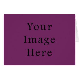 Plantilla púrpura magenta del espacio en blanco de tarjeta pequeña