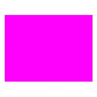 plantilla púrpura magenta para personalizar postal