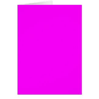 plantilla púrpura magenta para personalizar tarjeta de felicitación