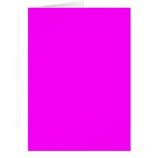 Plantilla púrpura violeta de neón del espacio en b tarjeta de felicitación