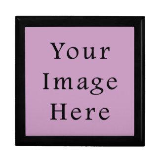 Plantilla púrpura violeta del espacio en blanco de caja de regalo
