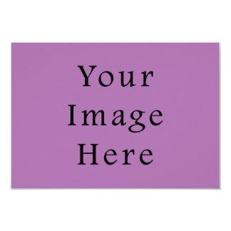 Plantilla purpúrea clara violeta del color de la invitación 8,9 x 12,7 cm