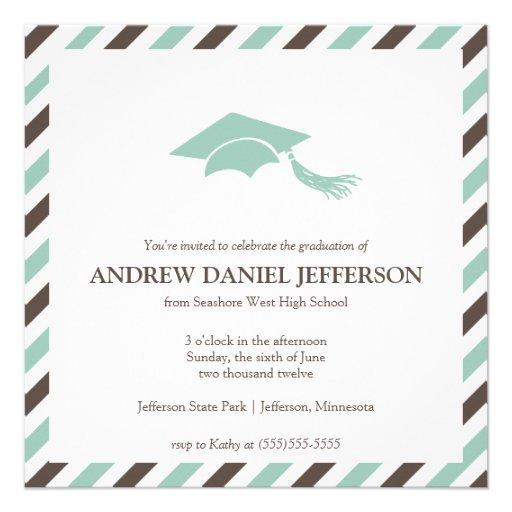 Free Invitation Template Graduation Announcements