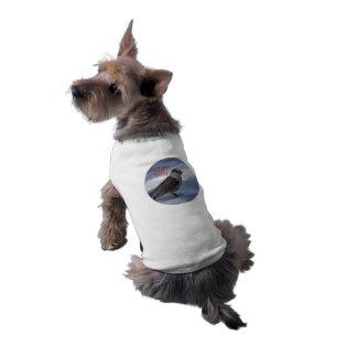 plantilla camisa de perro