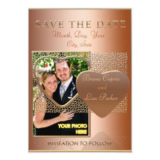 Plantilla SAVE THE DATE mosaicos con arabescos Invitaciones Personales