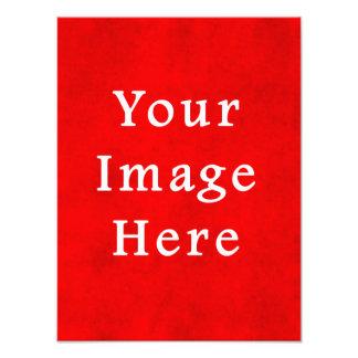 Plantilla texturizada rojo del color del pergamino impresión fotográfica