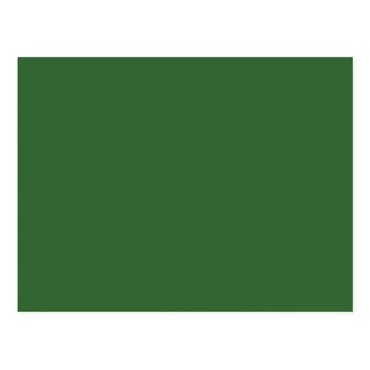 Plantilla verde postal