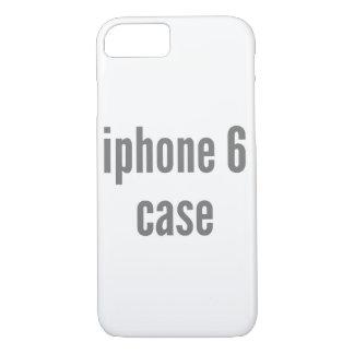plantilla vertical del terraplén del caso del funda iPhone 7
