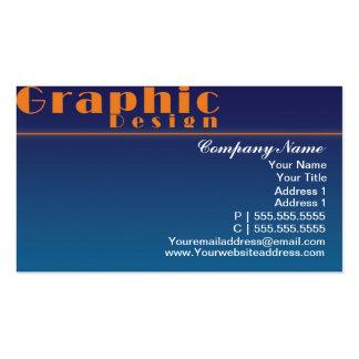 Plantillas de la tarjeta de visita - diseño azul d