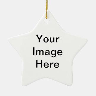 plantillas del producto adorno de cerámica en forma de estrella