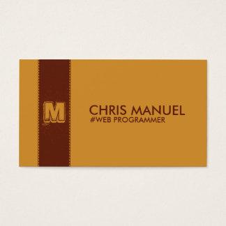 Plantillas minimalistas de la tarjeta de visita
