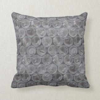 Plástico de burbujas cojín decorativo