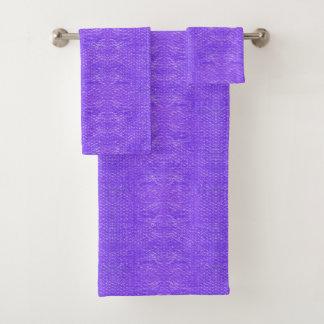Plástico de burbujas púrpura burbujeante brillante