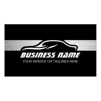 Plata automotriz profesional de la reparación auto tarjetas de visita