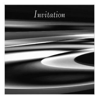 Plata de fusión del arte abstracto de la invitació