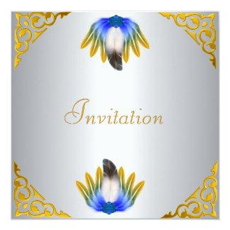 Plata del adulto de la invitación