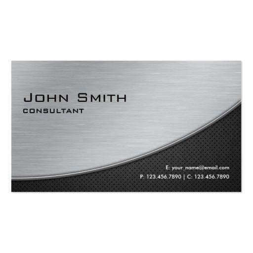 Plata moderna elegante profesional de la reparació tarjetas personales