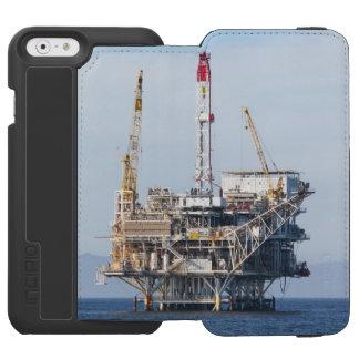 Plataforma petrolera funda cartera para iPhone 6 watson