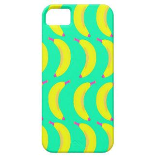 Plátano brillante iPhone 5 carcasas