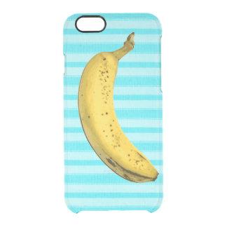 Plátano divertido funda clear para iPhone 6/6S