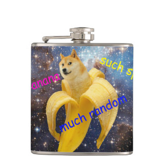 plátano   - dux - shibe - espacio - guau dux petaca
