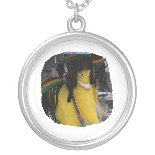 Plátano relleno del rasta en los parques de atracc grimpolas personalizadas