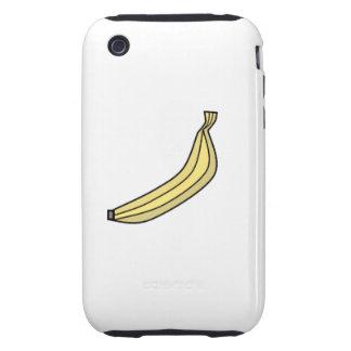 Plátano retro iPhone 3 tough cárcasas