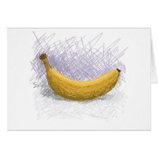 plátano tarjeta