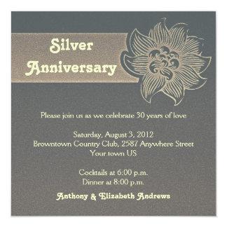 platee la 25ta invitación del aniversario