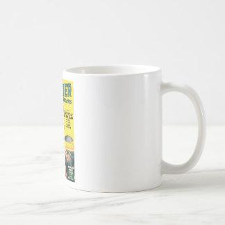Platillo volante prehistórico taza de café