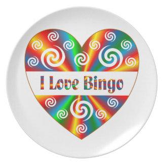 Plato Amo bingo