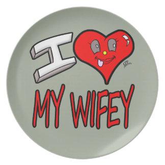 Plato Amo mi Wifey