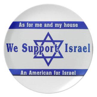 Plato Apoyamos Israel