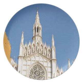 Plato Arquitectura gótica en Roma, Italia