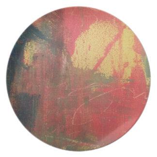 Plato Arte abstracto