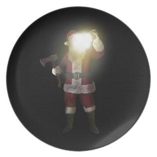 Plato Asesino de Santa
