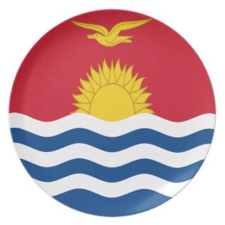 Plato ¡Bajo costo! Bandera de Kiribati